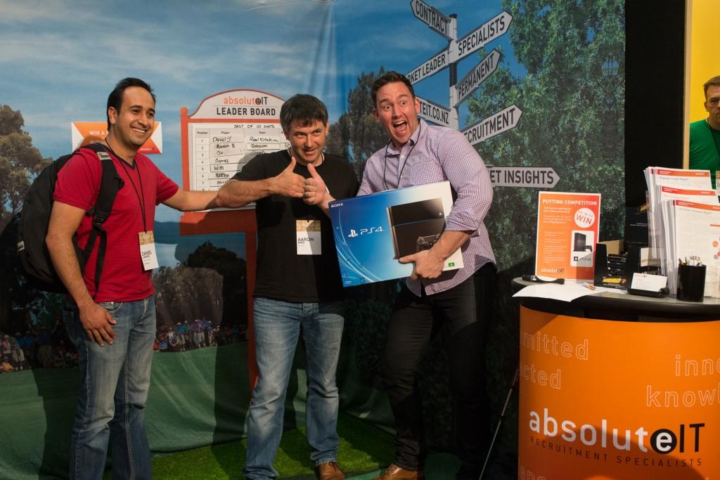 Winners photo - Webstock